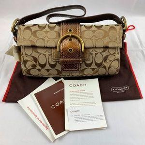 COACH 8k38 BROWN SHOULDER BAG